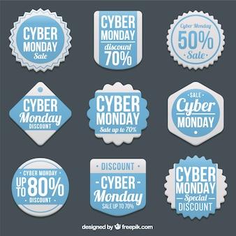 Selección de etiquetas del lunes cibernético