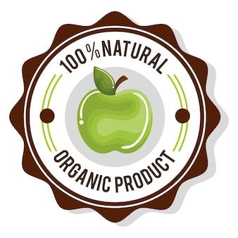 Sello garantizado producto orgánico