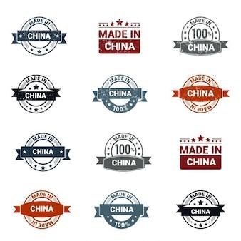 Sello de hecho en china