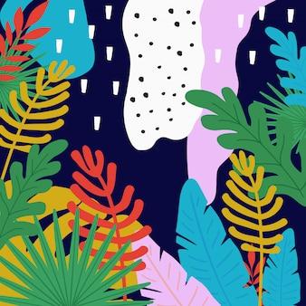 La selva tropical deja el fondo