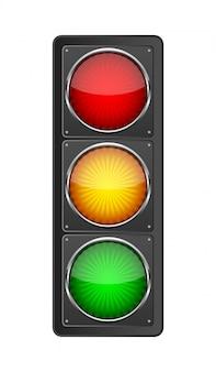 Semáforo. ilustración vectorial