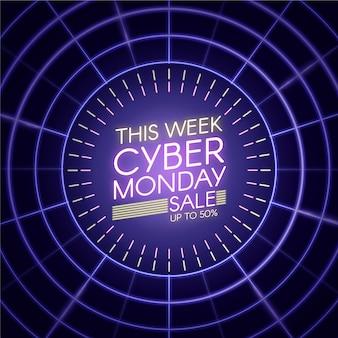 Esta semana luces de neón cyber monday