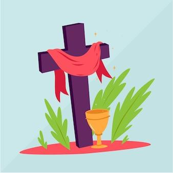Semana santa dibujada a mano