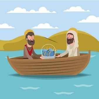 Semana santa escena bíblica