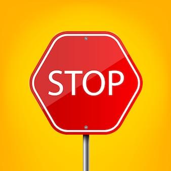 Señal de advertencia de carretera, plantilla de regulación de tráfico.