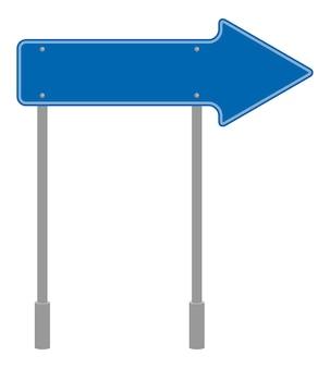Señal de carretera forma geométrica, símbolo de tráfico icono aislado de dibujos animados