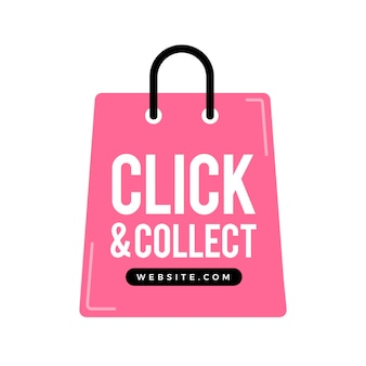 Señal detallada de clic y recogida