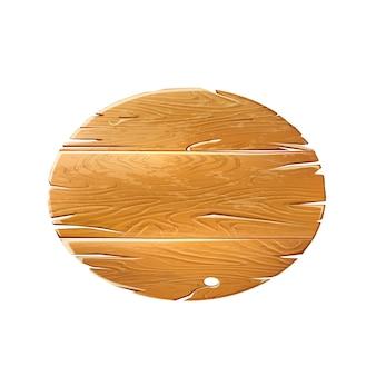 Señalización de madera realista