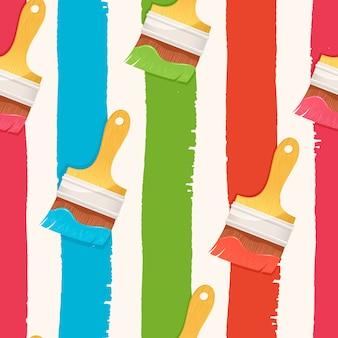 Senderos verticales coloridos sin fisuras