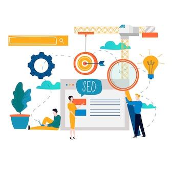 Seo, optimización de motores de búsqueda, estudios de mercado