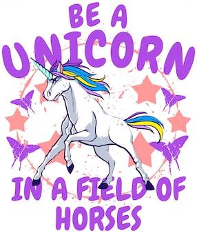 Ser un unicornio