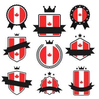 Serie de banderas del mundo, bandera de canadá.