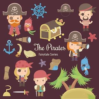 Serie de cuento de hadas los piratas