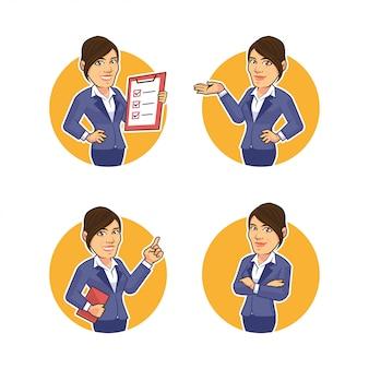 Servicio al cliente mujer mujer negocios