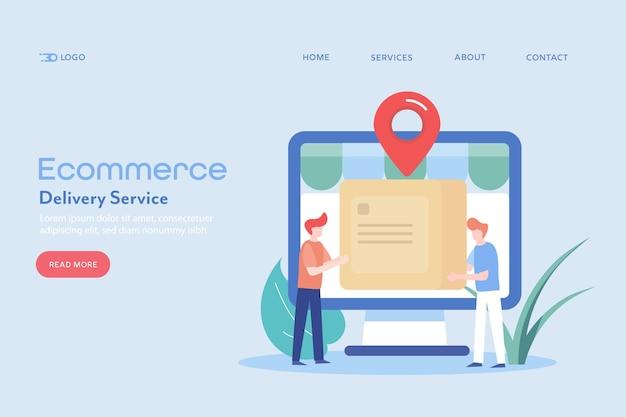 Servicio de entrega de comercio electrónico