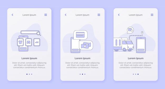 Servicio de entrega tienda en línea método de pago seguimiento campaña de entrega