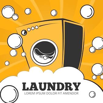 Servicio de limpieza y lavandería.