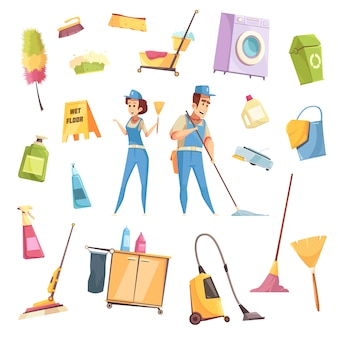 Servicio de limpieza s set