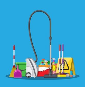 Servicio de limpieza y suministros