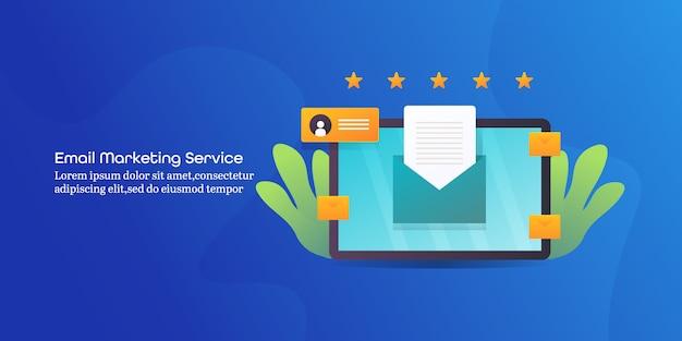 Servicio de marketing por correo electrónico