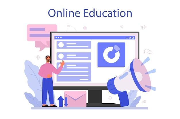 Servicio o plataforma en línea del comercializador.