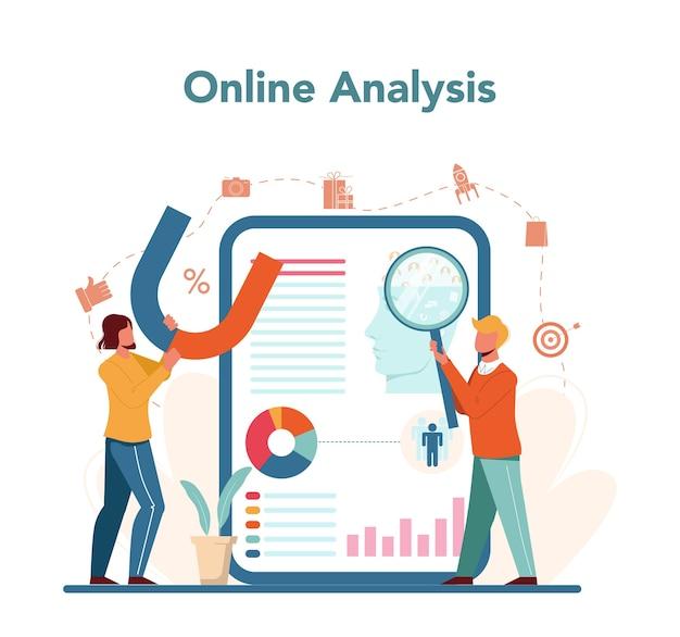 Servicio o plataforma en línea del comercializador