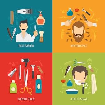 Servicio de peluqueria plana