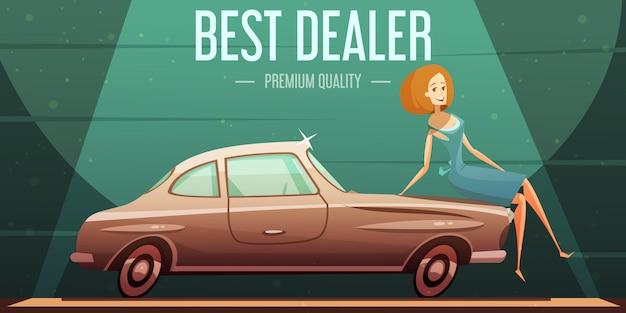 Servicio premium de vendedor de autos antiguos más vendido
