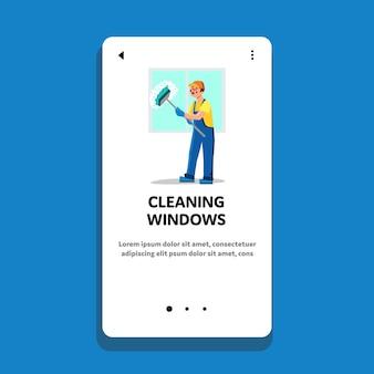 Servicio profesional de limpieza de windows man