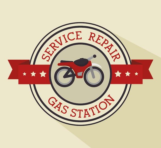 Servicio de reparación de vehículos.