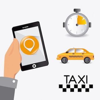 Servicio de taxis de diseño.