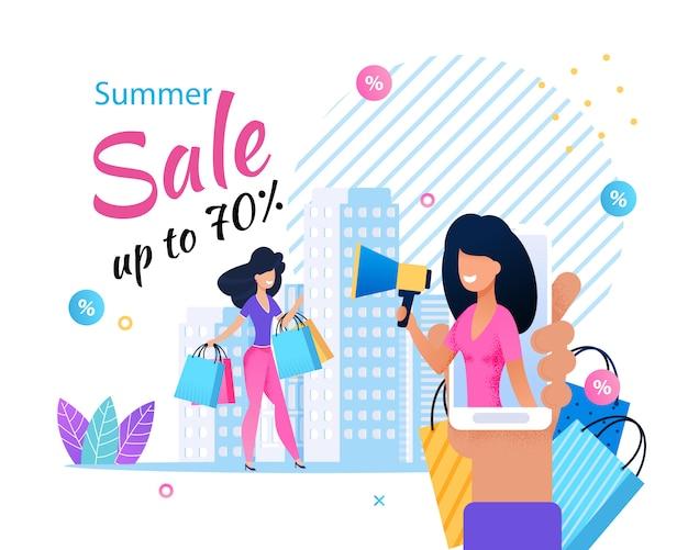 Servicio de ventas en línea en publicidad móvil