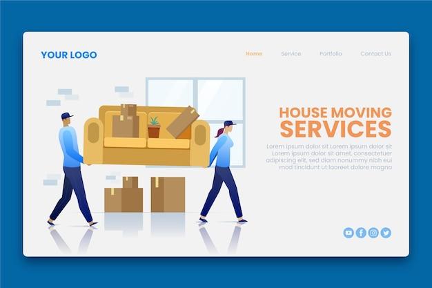 Servicios de mudanza de casa