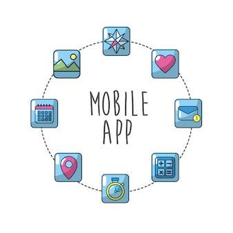 Servidor de medios de conexión de aplicaciones de tecnología