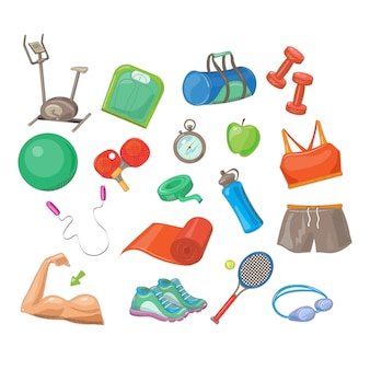 Set de accesorios deportivos