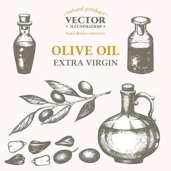 Set de aceite de oliva