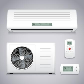 Set de aire acondicionado