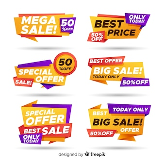 Set de banners de compra