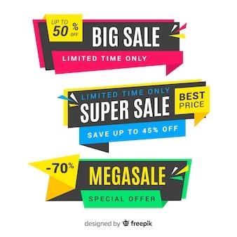Set de banners de compras