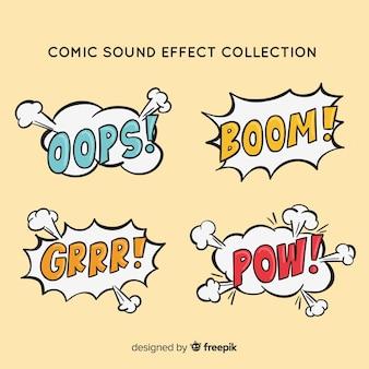 Set de bocadillos de comic