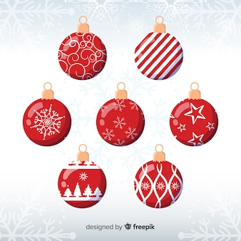 Set de bolas de navidad