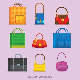Set de bolsos listos