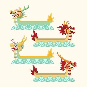 Set de bote de dragón