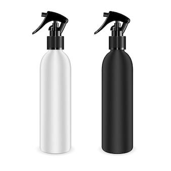 Set de botellas de spray para cosméticos y otros productos.