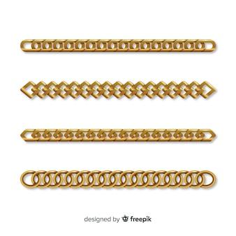 Set de cadenas