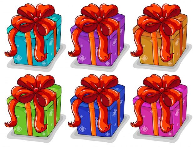 Set de caja de regalos