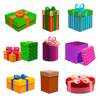 Set de cajas de regalo