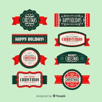 Set de cintas de navidad