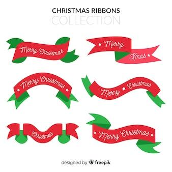 Set de cintas navideñas decorativas