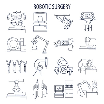 Set de cirugía robótica